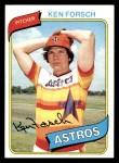 1980 Topps #642  Ken Forsch    Front Thumbnail