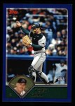 2003 Topps #534  Toby Hall  Front Thumbnail