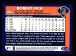 2003 Topps #212  Robert Fick  Back Thumbnail