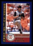 2003 Topps #704   -  Randy Johnson Award Winners Front Thumbnail