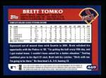 2003 Topps #469  Brett Tomko  Back Thumbnail