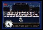 2003 Topps #636   Chicago White Sox Team Front Thumbnail