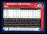 2003 Topps #610  Russell Branyan  Back Thumbnail