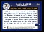 2003 Topps #687   -  John Olerud Award Winners Back Thumbnail