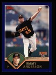 2003 Topps #78  Jimmy Anderson  Front Thumbnail