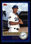 2003 Topps #672  James Loney  Front Thumbnail