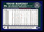 2003 Topps #159  Edgar Martinez  Back Thumbnail
