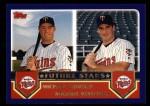2003 Topps #329  Michael Cuddyer / Michael Restovich  Front Thumbnail