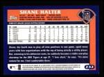 2003 Topps #232  Shane Halter  Back Thumbnail