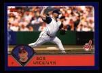 2003 Topps #136  Bob Wickman  Front Thumbnail