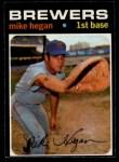 1971 O-Pee-Chee #415  Mike Hegan  Front Thumbnail