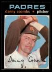 1971 O-Pee-Chee #126  Dan Coombs  Front Thumbnail