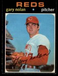 1971 O-Pee-Chee #75  Gary Nolan  Front Thumbnail