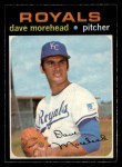 1971 O-Pee-Chee #221  Dave Morehead  Front Thumbnail