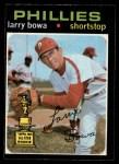 1971 O-Pee-Chee #233  Larry Bowa  Front Thumbnail