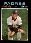1971 O-Pee-Chee #333  Clay Kirby  Front Thumbnail