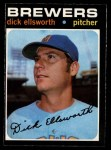 1971 O-Pee-Chee #309  Dick Ellsworth  Front Thumbnail