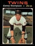 1971 O-Pee-Chee #127  Danny Thompson  Front Thumbnail