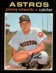 1971 O-Pee-Chee #44  Johnny Edwards  Front Thumbnail