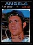 1971 O-Pee-Chee #466  Ken Berry  Front Thumbnail
