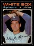 1971 O-Pee-Chee #227  Floyd Weaver  Front Thumbnail