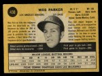 1971 O-Pee-Chee #430  Wes Parker  Back Thumbnail