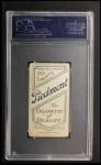 1909 T206 WHI Hal Chase  Back Thumbnail