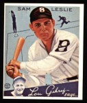 1934 Goudey Reprint #49  Sam Leslie  Front Thumbnail