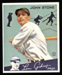 1934 Goudey Reprint #40  John Stone  Front Thumbnail