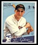 1934 Goudey Reprint #30  Julius Solters  Front Thumbnail