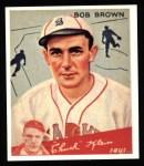 1934 Goudey Reprint #81  Bob Brown  Front Thumbnail