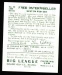 1934 Goudey Reprint #93  Fred Ostermueller  Back Thumbnail