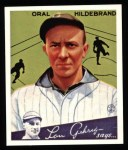 1934 Goudey Reprint #38  Oral Hildebrand  Front Thumbnail