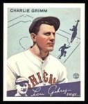 1934 Goudey Reprint #3  Charlie Grimm  Front Thumbnail