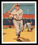 1934 Diamond Stars Reprint #6  Max Bishop  Front Thumbnail