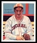 1934 Diamond Stars Reprint #36  Earnie Lombardi  Front Thumbnail