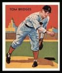 1934 Diamond Stars Reprint #5  Tommy Bridges  Front Thumbnail