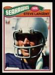 1977 Topps #177  Steve Largent  Front Thumbnail