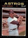1971 O-Pee-Chee #222  Bob Watson  Front Thumbnail