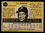 1971 O-Pee-Chee #173  Gil Garrido  Back Thumbnail
