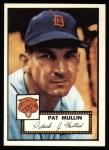 1952 Topps REPRINT #275  Pat Mullin  Front Thumbnail