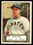 1952 Topps REPRINT #73  Bill Werle  Front Thumbnail