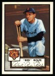 1952 Topps REPRINT #296  Red Rolfe  Front Thumbnail