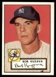 1952 Topps REPRINT #85  Bob Kuzava  Front Thumbnail
