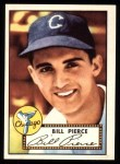 1952 Topps REPRINT #98  Billy Pierce  Front Thumbnail