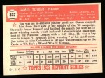 1952 Topps REPRINT #337  Jim Hearn  Back Thumbnail