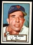 1952 Topps REPRINT #337  Jim Hearn  Front Thumbnail