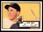 1952 Topps REPRINT #170  Gus Bell  Front Thumbnail