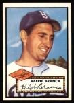 1952 Topps REPRINT #274  Ralph Branca  Front Thumbnail
