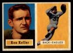 1957 Topps #111  Ken Keller  Front Thumbnail